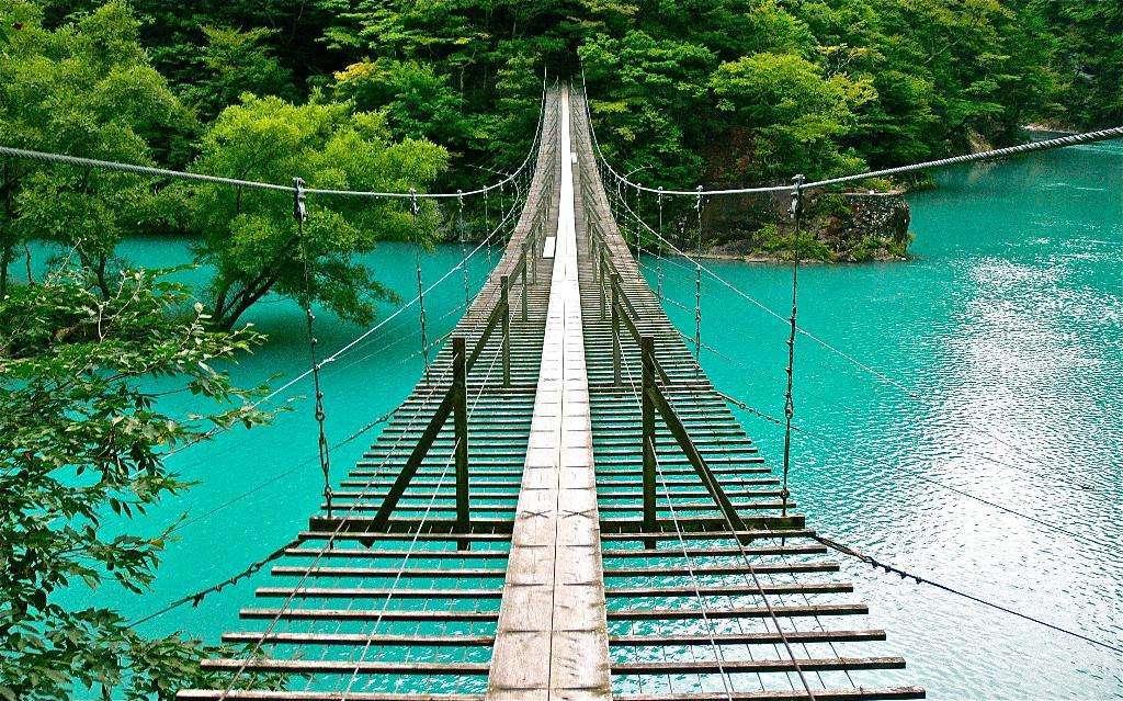 静岡県の最高の夢の吊り橋(寸又峡)のアクセスや魅力を大公開