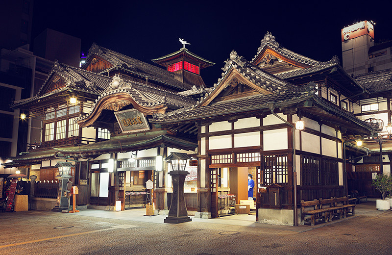 道後の温泉宿 人気旅館ランキング厳選10